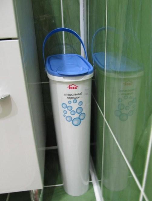 Правила хранения стиральных порошков