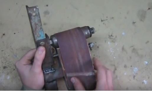 Как сделать шлифовальный станок (гриндер) из стиральной машины