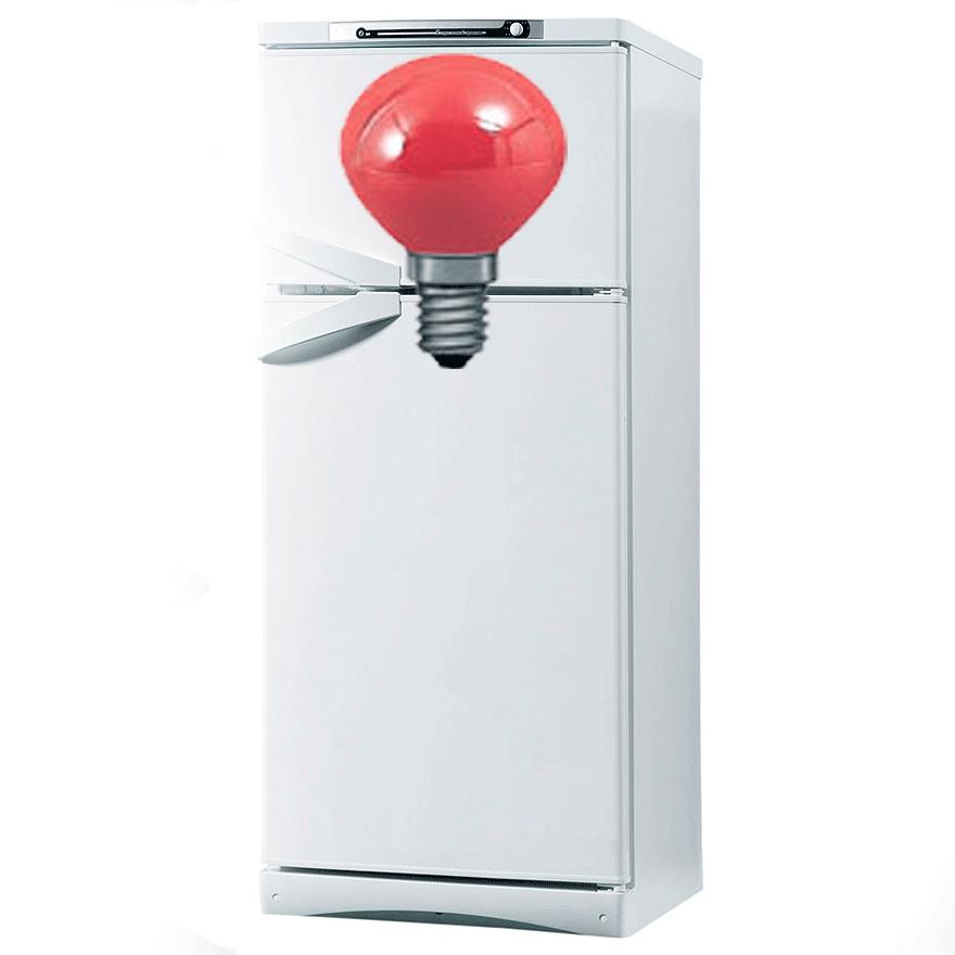 Нет света в холодильнике