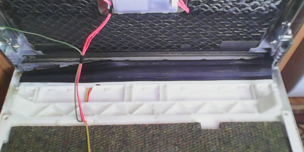 Замена уплотнителя на дверце