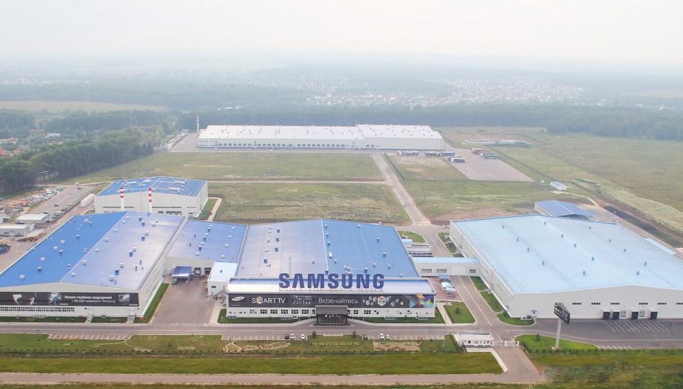 Производственные мощности Самсунг