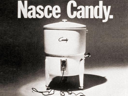 Первая модель стиральной машины бренда Кэнди