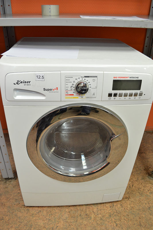 Внешний вид стиральной машины Kaiser