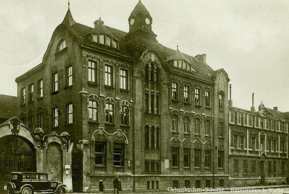 Ретро фото завода Kuppersbusch