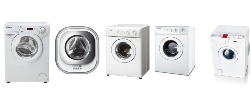 Модельный ряд небольших стиральных машин