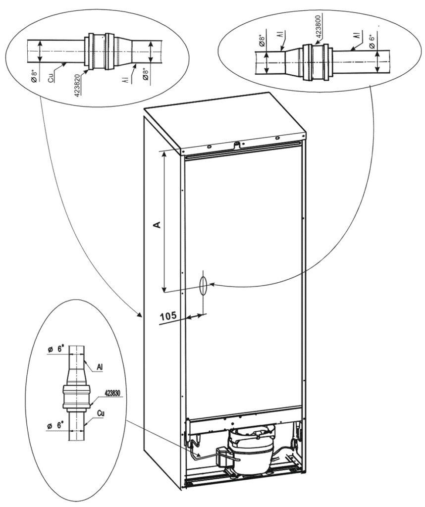 Заводские пайки или же локринговые соединения