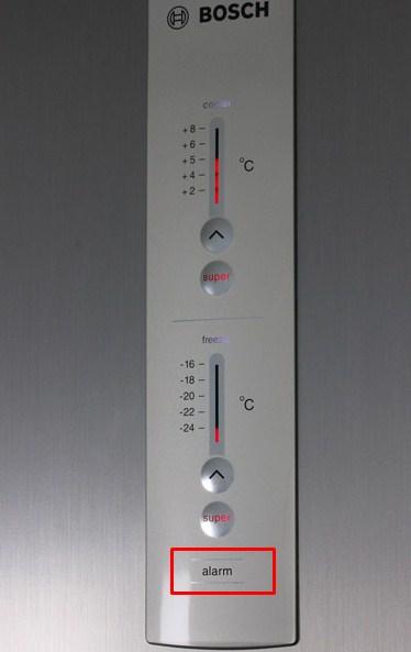 Наиболее частые причины неисправностей холодильников Bosch