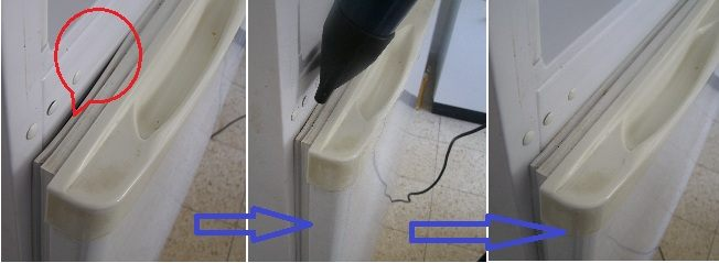 Порвалась резинка на двери холодильника