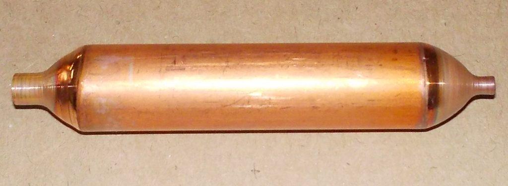 Засор фильтра-осушителя или засор капилляра