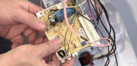 Замена электронного модуля