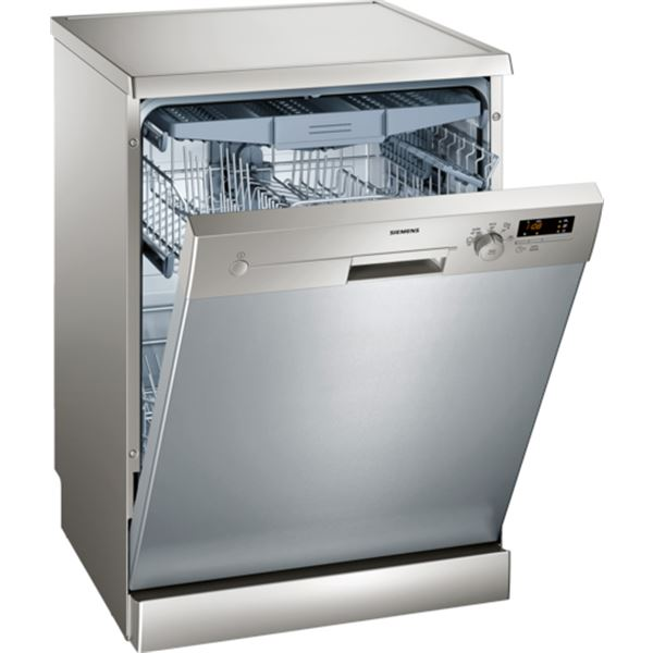 Отдельностоящая стильная посудомоечная машина со фронтальной комбинированной панелью задач