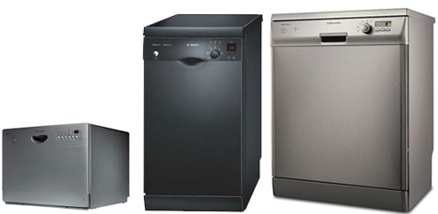 Три вида встраиваемых посудомоечных машин для дома разных размеров