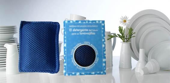 Стильный наномешочек для мытья посуды в посудомоечной машине в упаковке