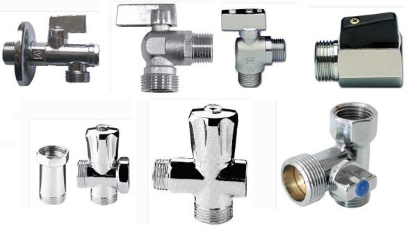 Существует много видов кранов и вентелей для подключения посудомоечной машины к водопроводу