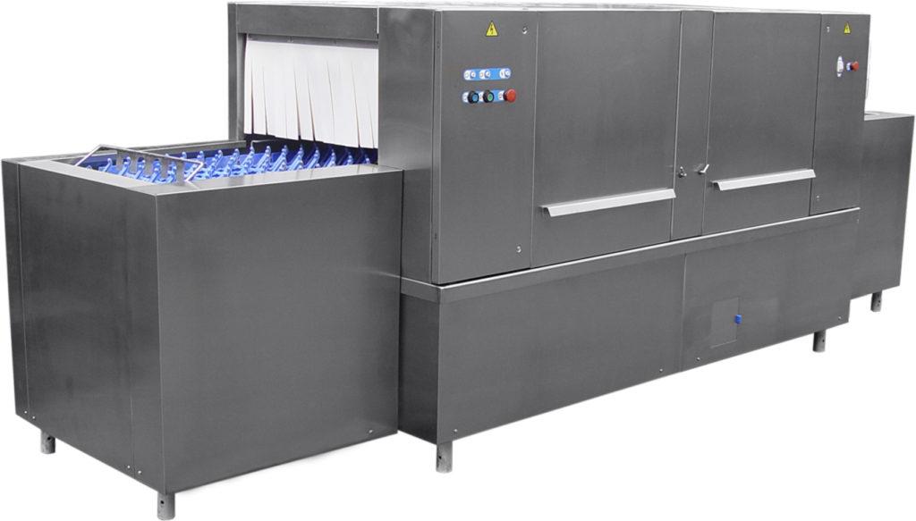 Промышленная посудомоечная машина марки ММУ 1000М для больших столовых