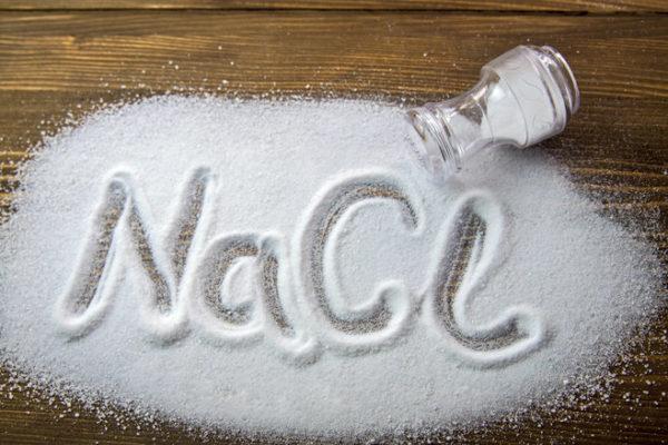 Химический элемент NaCL - это соль для очищения накипи в посудомоечных машинах