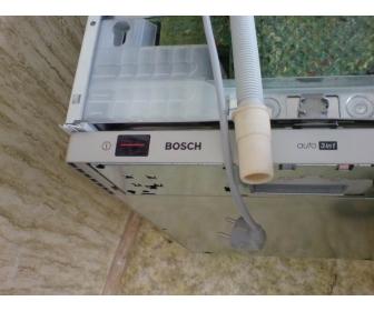 Полновстраиваемая посудомоечная машина Бош без подключения к комуникациям
