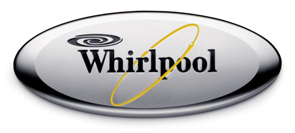 Логотип компании Вирпул, производителя посудомоечных машин для домашнего использования