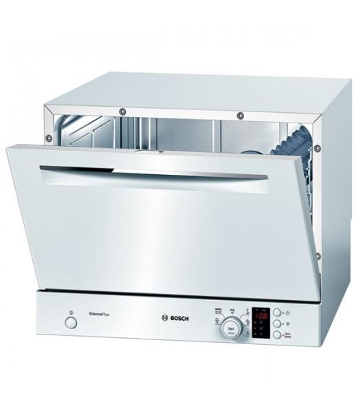Встраиваемая компактная посудомоечная машина Бош со фронтальной панелью задач в нижней части