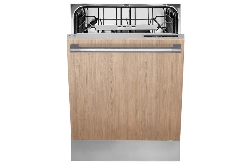 Сочетание элегантности и практичности в посудомоечной машине Asko D5536 XL с фасадом из светлого дерева