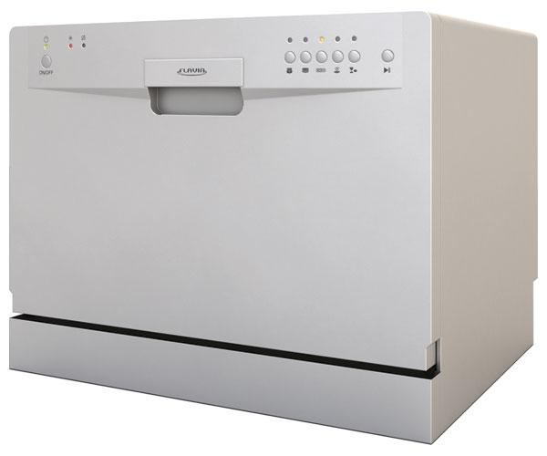 Компактная посудомоечная машина от фирмы производителя Флавия для небольшой семьи