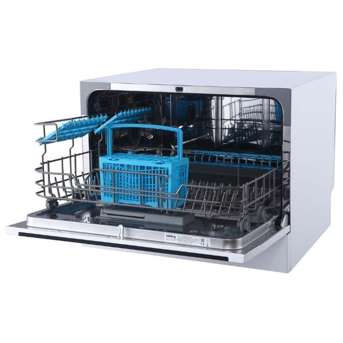 Одноуровневый бункер с использованием аксессуаров в компактных посудомоечных машинах