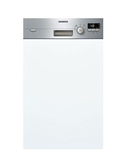Элегантная посудомоечная машина Siemens SR 55E506 со фронтальной панелью задач и дисплеем
