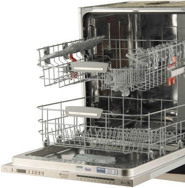 Вместительная двухуровневая посудомоечная машина от фирмы Аристон