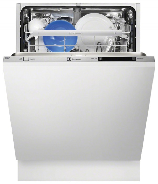 Посудомоечная машина Электролюкс с полностью электронной панелью задач на дверце