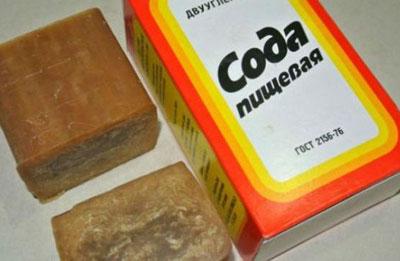 Хозяйственно мыло и пищевая сода - мощное моющее средство для детской посуды в домашних условиях