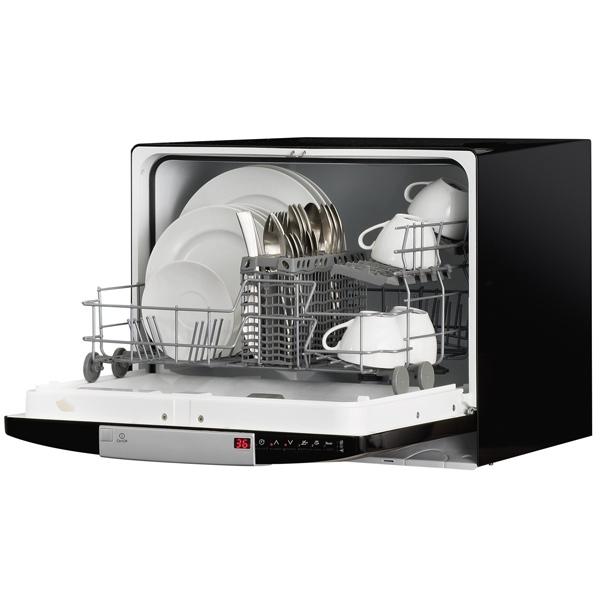 Компактная посудомоечная машина Electrolux ESF 2300 OK в стильном черном корпусе