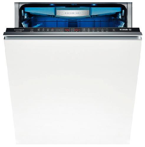 Стильная многофункциональная посудомоечная машина Бош с синей внутренней подсветкой