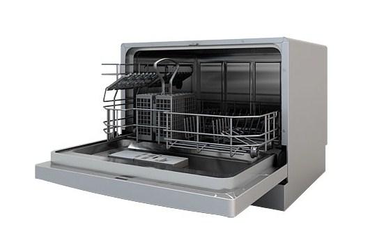 Одноуровневая компактная посудомоечная машина для дома от компании Флавия