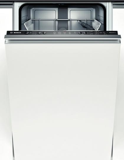 Встраиваемая посудомоечная машина Бош со стильным дизайном скрытой панели задач