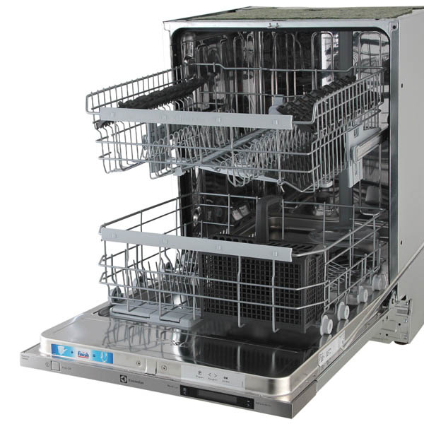 Встраиваемая посудомоечная машина Electrolux ESL 6810 RO с двумя большими лотками для посуды