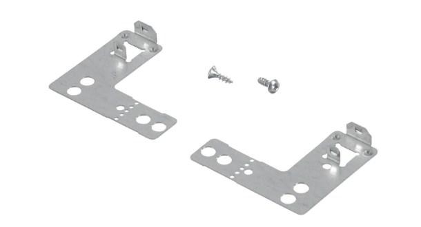 Крепежный набор для классического метода крепления посудомоечной машины к столешнице или стене
