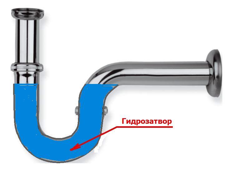 Правильная организация слива при подключении посудомоечной машины для получения гидрозатвора