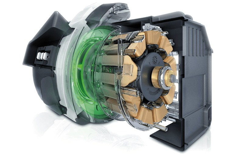 Посудомоечные машины линейки производителя Сименс оснащены современным инверторным двигателем