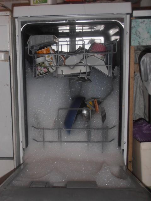 Аварийное открытие посудомоечной машины Сименс при возникновении ошибки