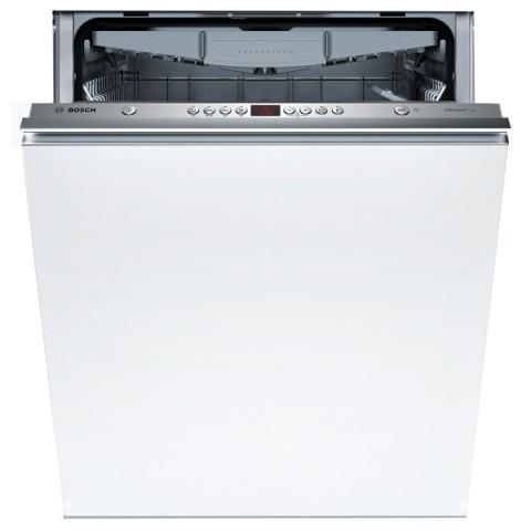 Вместительная посудомоечная машина Бош более 60 см со спрятанной панелью задач и дисплеем