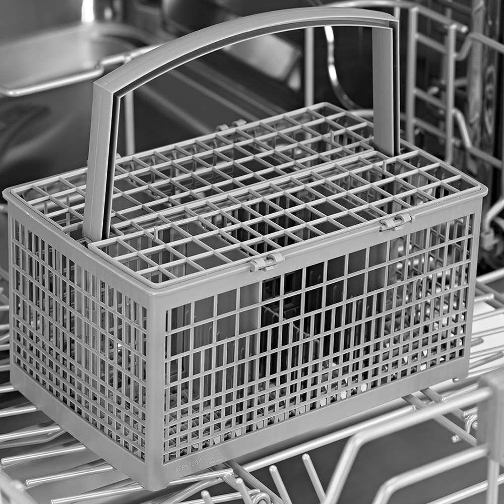 Вариант закрытого контейнера для посудомоечной машины для хрупкой посуды