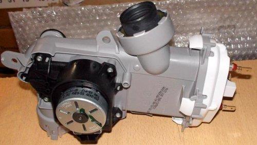 Извлечение и замена проточного водонагревателя в посудомоечной машине Бош