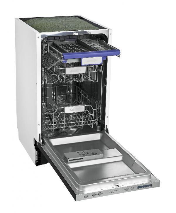 Узкая полновстраиваемая посудомоечная машина BI 45 Kamaya S от производителя Флавия