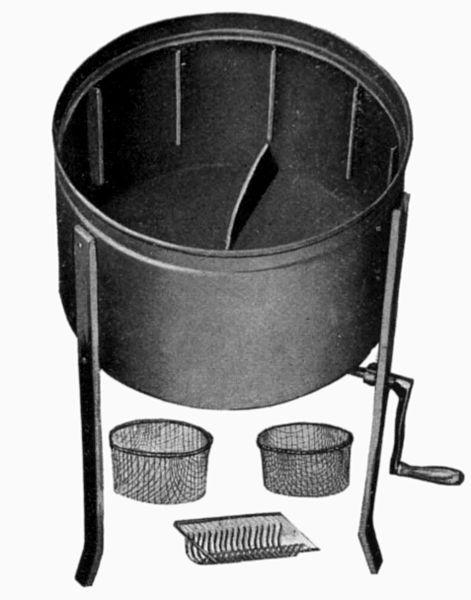 Прототип ручной посудомоечной машины с возможностью крепления различной атрибутики