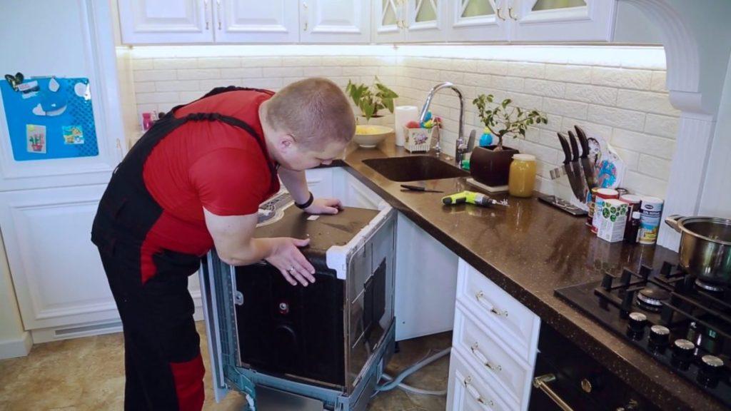 Подготовительные работы для самостоятельного демонтажа и разбора посудомоечной машины