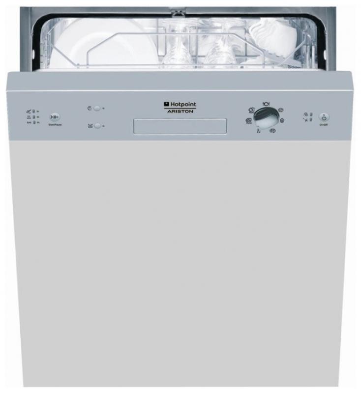 Вариант модели посудомоечной машины Хотпоин Аристон с механической панелью задач