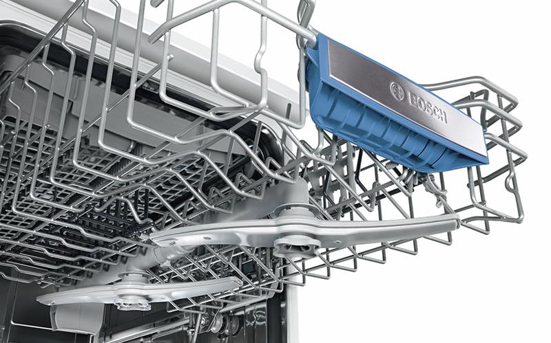 Устройство лотка для посуды в посудомоечной машине Бош не более 45 см