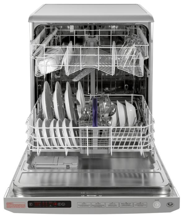 Встраиваемая посудомоечная машина для семьи из четырех человек и более с частичной загрузкой