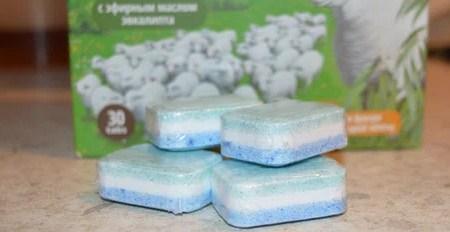 Таблетки для посудомоечной машины Био Мио в индивидуальной вакуумной упаковке
