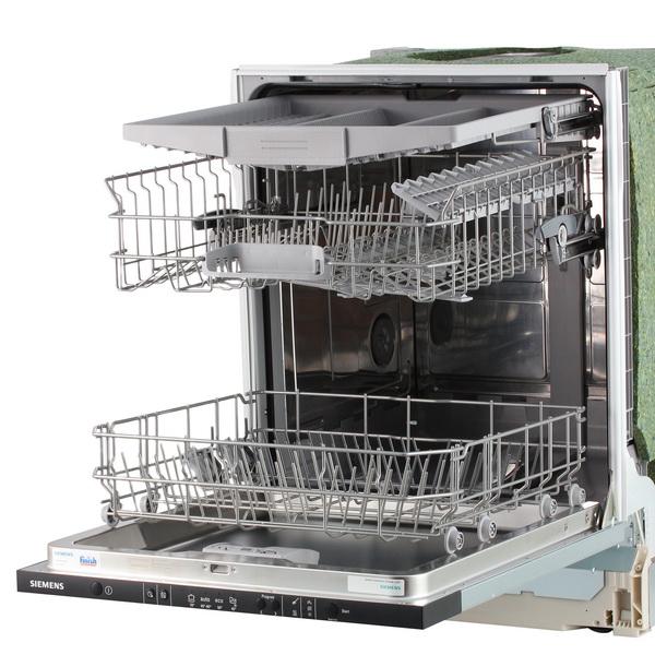 Вариант двухуровневого лотка для загрузки посуды разных размеров в посудомоечную машину